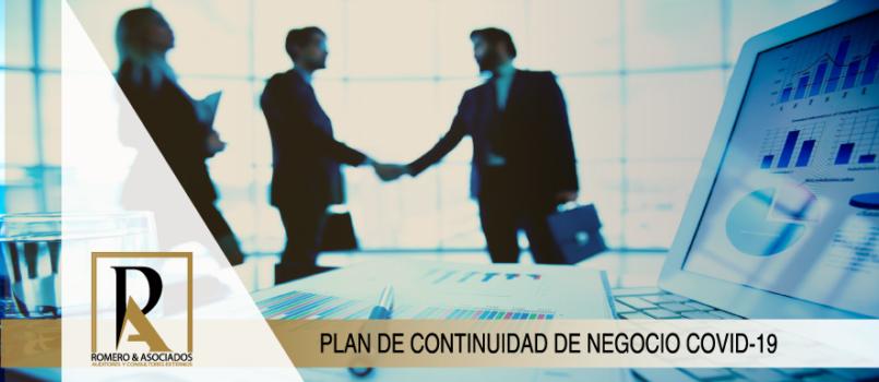 Plan de Continuidad De Negocio COVID-19