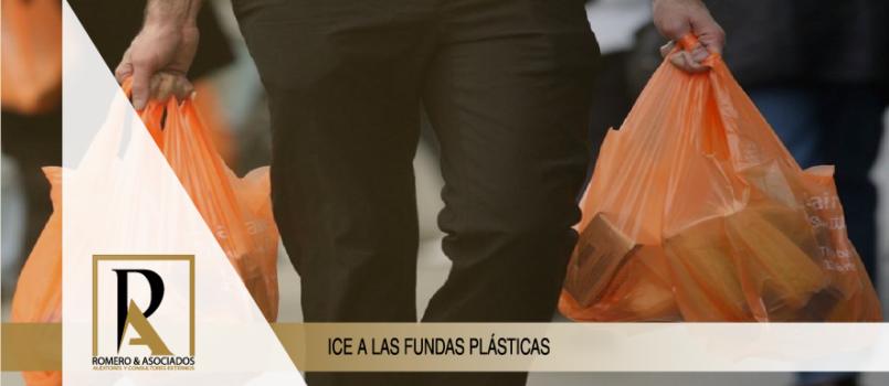 Impuesto a los consumos especiales (ICE) a las fundas plásticas